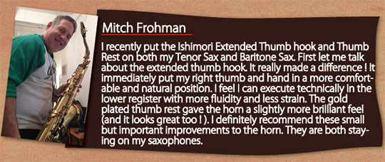 wood atone Thumb Hook Mitch Frohman