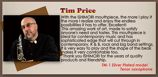 wood stone saxophone Mouthpiece Recommendation Tim Price