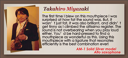 wood stone saxophone Mouthpiece Recommendation