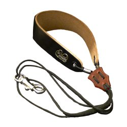 Photo1: Wood Stone Saxophone Strap Series I