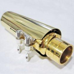 Photo2: Wood Stone Mouthpiece Cap for Alto/Tenor Saxophone