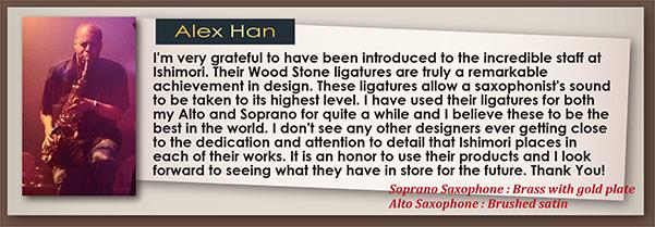 wood stone ligatur Alex Han