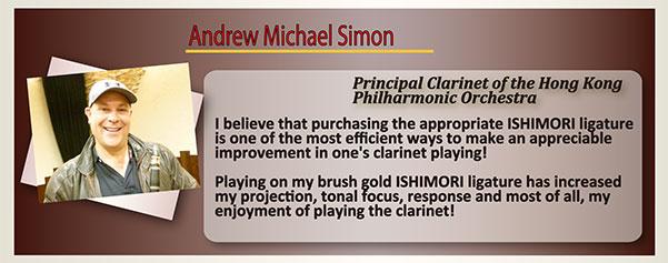 wood stone Ishimori Ligature Andrew