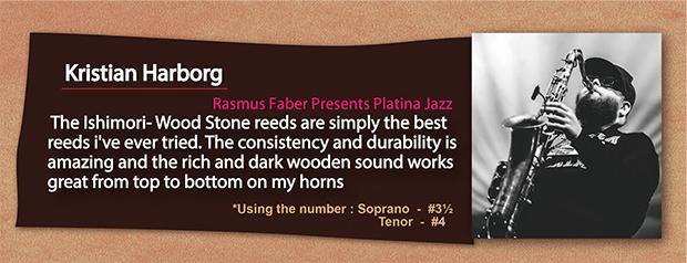 wood stone saxophone reed Kristian Harborg