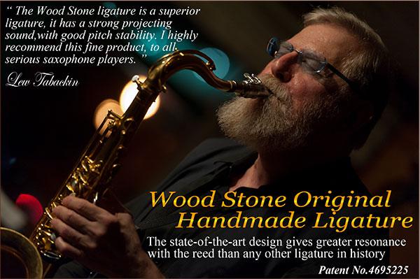 wood stone ligature original handmade