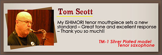 wood stone saxophone Mouthpiece Recommendation Tom_Scott
