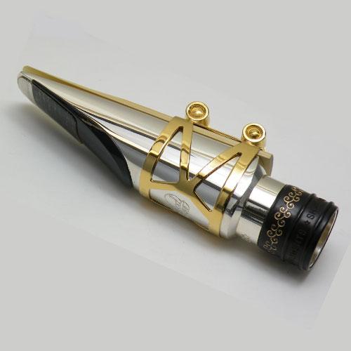 Wood Stone Alto Saxophone Metal Ligature Ishimori Wind